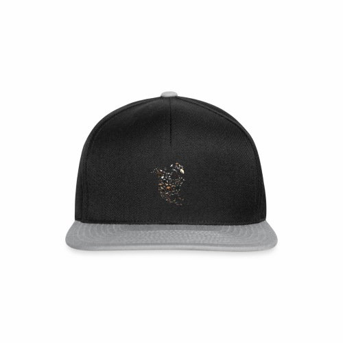 Wild North America Map - Snapback Cap