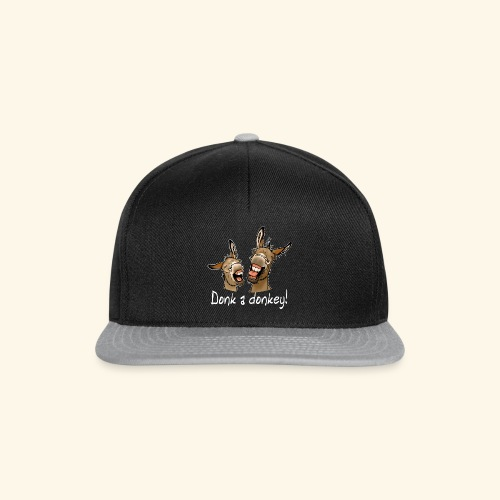 Ane Donk a donkey (texte blanc) - Casquette snapback