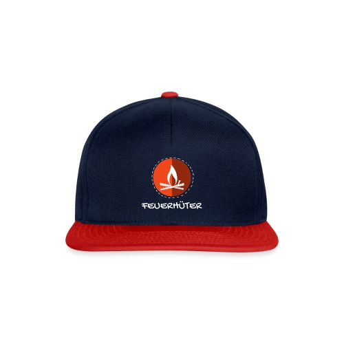 feuerhu ter white 2 - Snapback Cap
