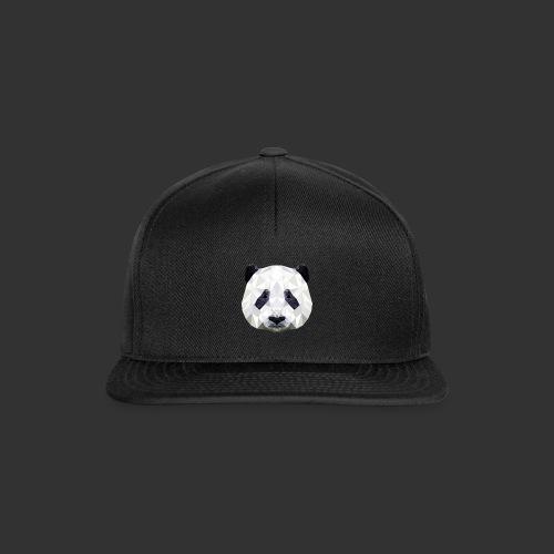 Panda Low Poly - Casquette snapback