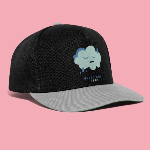 overclouded today - Snapback Cap