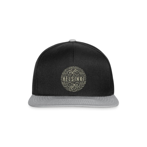HELSINKI BICYCLE LIFE Textiles, Gifts for You! - Snapback Cap