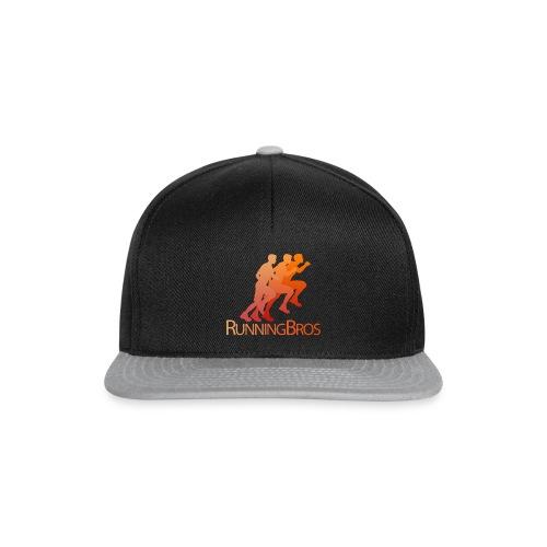RunningBros Logo farbig - Snapback Cap