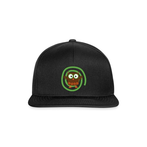 ORGANIC OWL - TEXTILE AND GIFT PRODUCTS FP10-53 - Snapback Cap