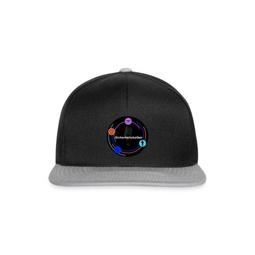 Sicherheitshalber dunkel - Snapback Cap