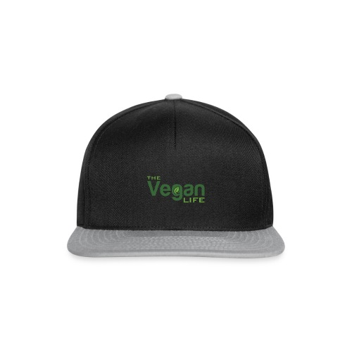 The Vegan Life Logo - Snapback Cap