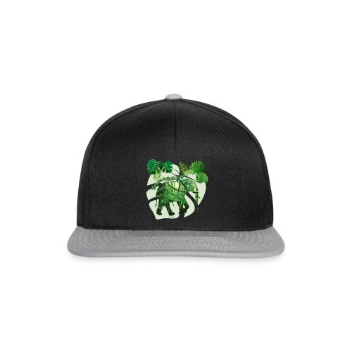 Dschungel - Elefant - Loxodonta cyclotis - Snapback Cap