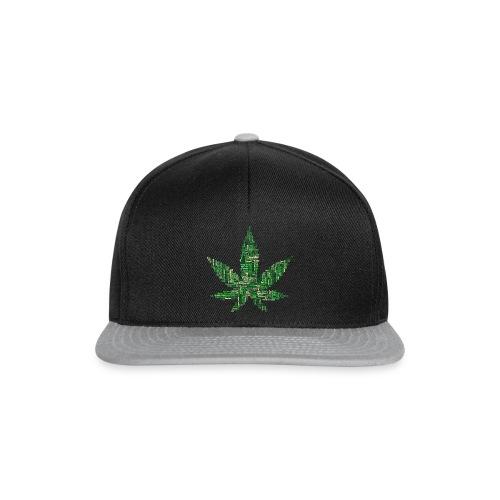 marijuana 2754247 1920 - Snapback Cap