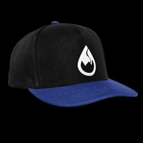 WS-Crew Tropfen-Logo weiß - Snapback Cap