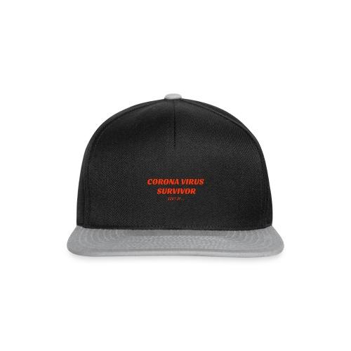 Corona Survivor - Snapback Cap