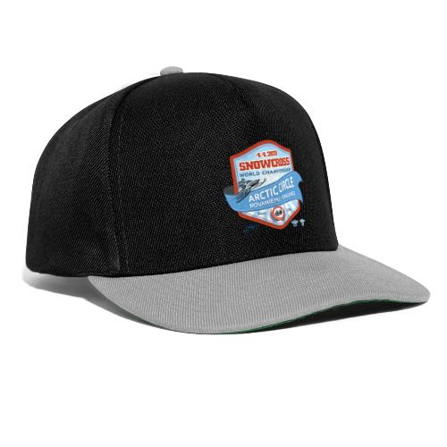MM Snowcross 2020 virallinen fanituote - Snapback Cap