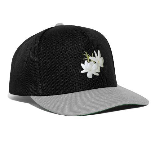 Jasmin weiss Blüte Strauch Duft Pflanze - Snapback Cap
