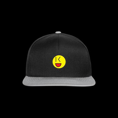 Cool Wink Smiley Hoodie - Snapback Cap