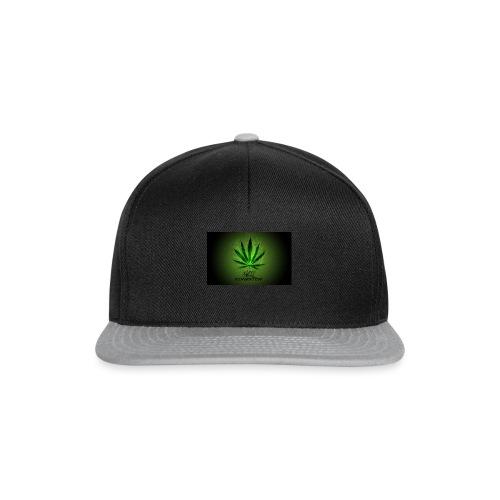 420 hash logo - Snapback Cap