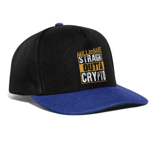Millionaire Straight Outta Crypto - Snapback Cap