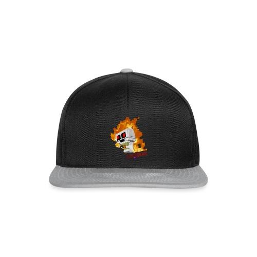 SnoWQuake skull logo - Snapback Cap