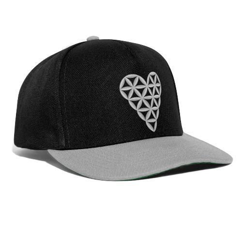 The Heart of Life x 1, New Design /Atlantis -01 - Snapback Cap
