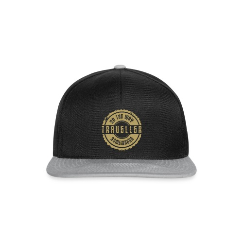 On The Way Somewhere, Traveller Textiles, Gifts - Snapback Cap
