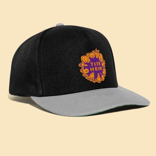 Tierheim Logo orangelila - Snapback Cap