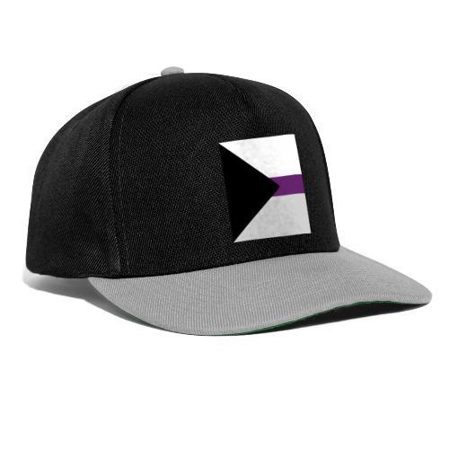Demisexuell Flagge - Snapback Cap