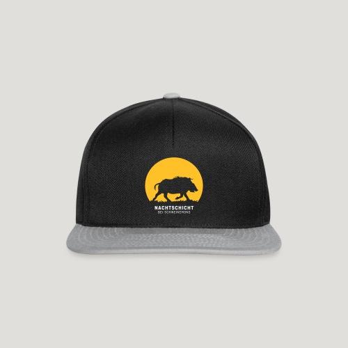 Nachtschicht bei Schweinemond! Jäger Shirt Jaeger - Snapback Cap