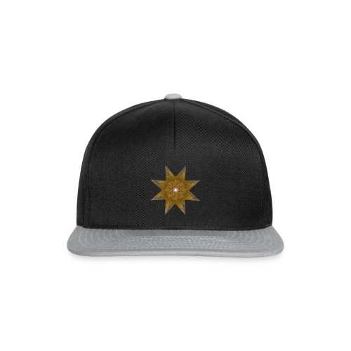 Golden Star - Snapback cap
