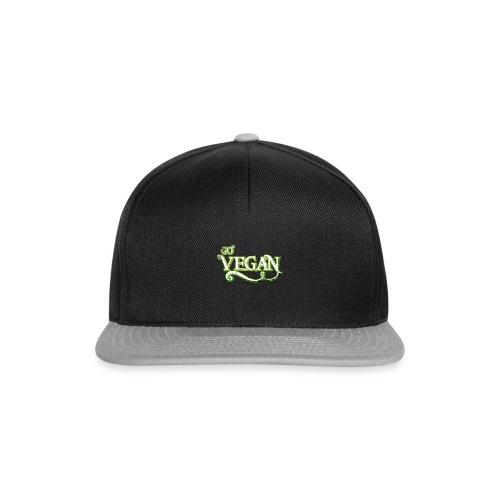GO VEGAN - Snapback Cap