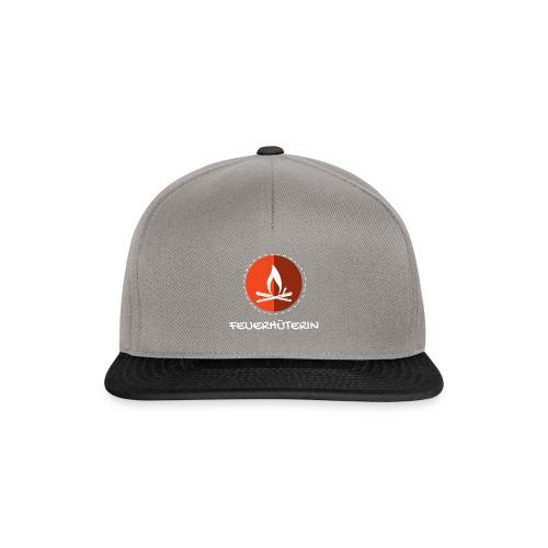 feuerhu terin white 2 - Snapback Cap
