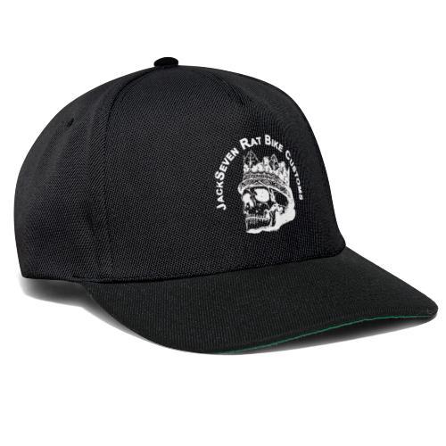 jackseven customs skull bobber chopper caferacer - Snapback Cap
