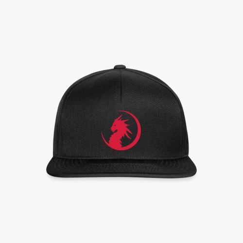 Dragon Moon Silhouette - Snapback Cap