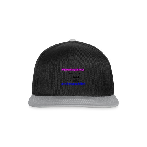 Femminismo misandrico - Snapback Cap