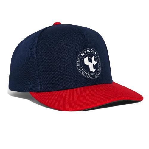 Nikolin valkoinen logo - Snapback Cap
