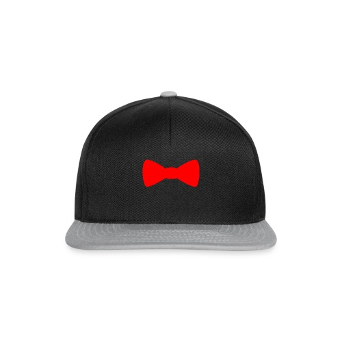 Red Bowtie - Snapback Cap