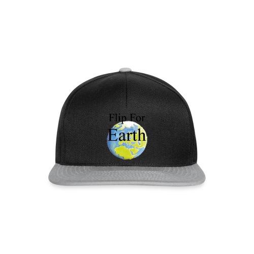 Flip For Earth T-shirt - Snapbackkeps