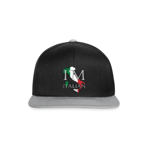 I am Italian - Snapback Cap
