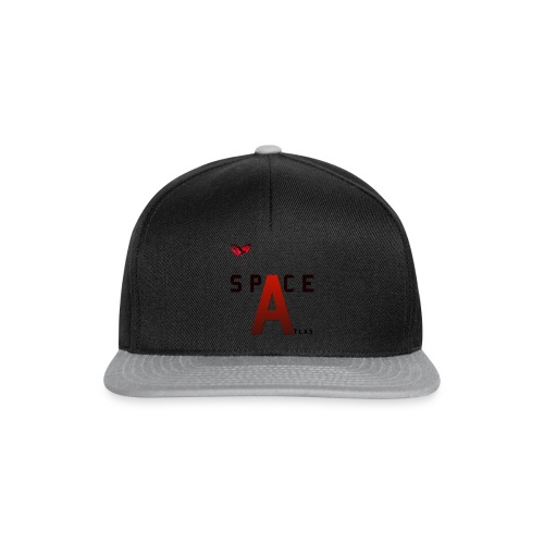 Space Atlas Baseball Long Sleeve Capital A - Snapback Cap