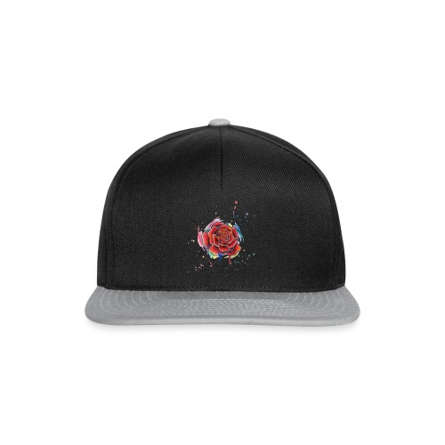 Rose Watercolors Nadia Luongo - Snapback Cap