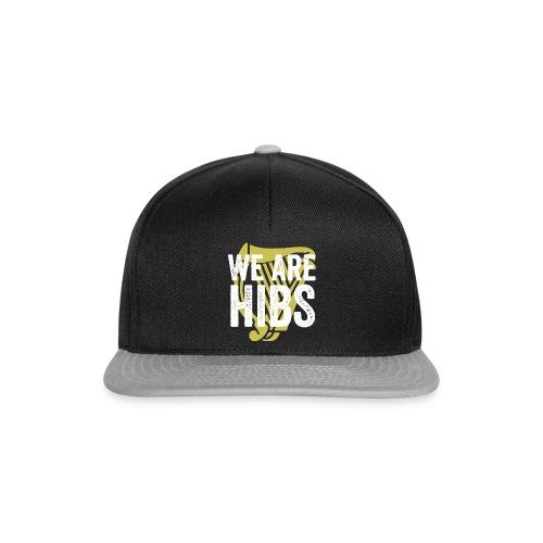 WEAREHIBS WhiteWithGoldHarp - Snapback Cap
