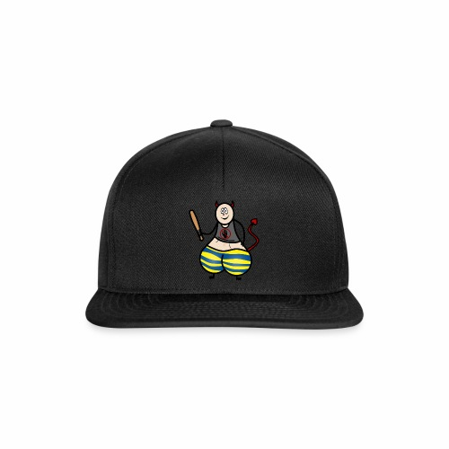 Devil No Touchies Charlie - Snapback Cap
