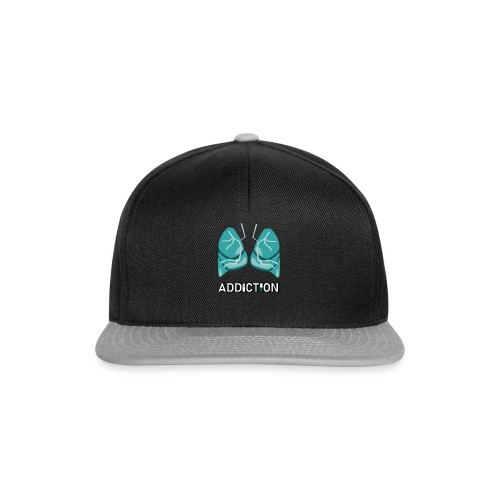 Addiction - Lungs - Snapbackkeps