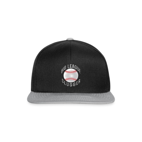 big league slugger baseball shirts - Snapback Cap