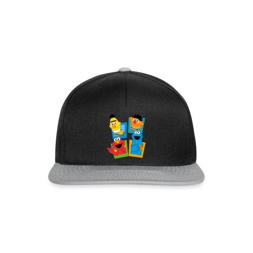 Sesamstraße Schild Ernie und Bert - Snapback Cap
