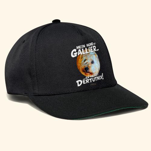 Hunde T-Shirt witziger Spruch für Hundehalter - Snapback Cap