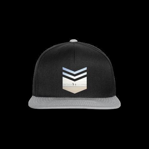 Surf Beach Triangle - Snapback Cap