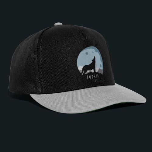 Hudsonvisuals Wolf Blue - Snapback Cap