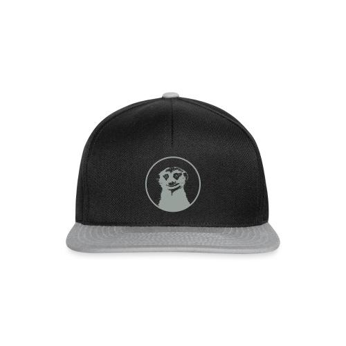 Stokstaartje groot rond diapositief - Snapback cap