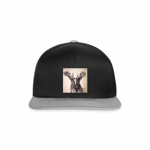 deer crown - Snapback Cap