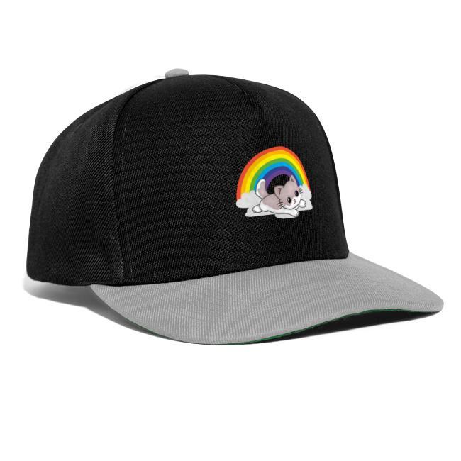 Gato arcoiris