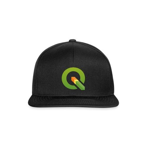 QGIS Q logo - Snapback Cap