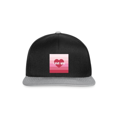 Valentines Day - I Love You - Snapback Cap